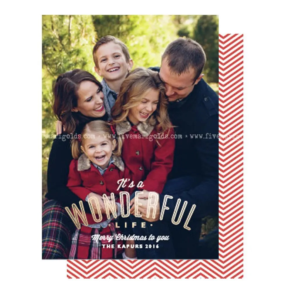 Free Christmas Card Template + 10 Inspiring Ideas for Christmas Card Photos