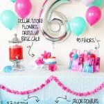 Malibu Barbie Pool Party Birthday Infographic.2 | Five Marigolds