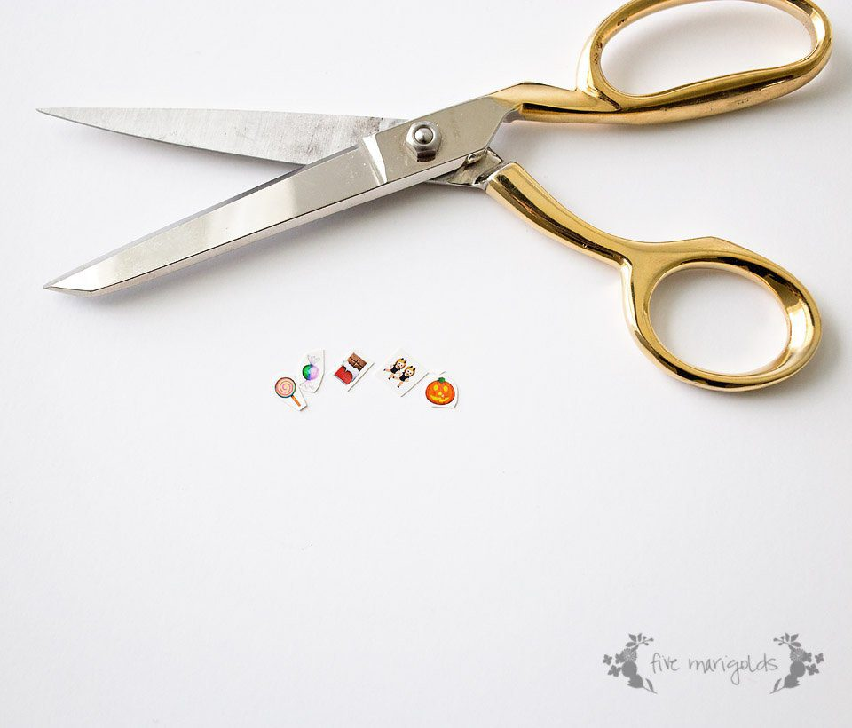 What a neat idea! Use tattoo paper to make nail art.