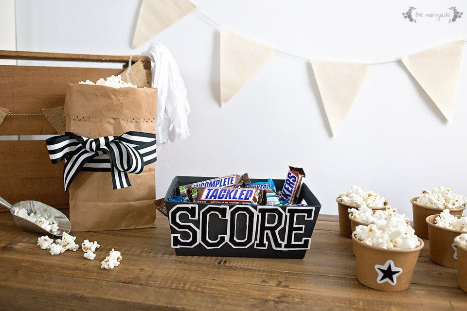 Quick & Easy Game Day Decor #ScoreAtCVS [AD]