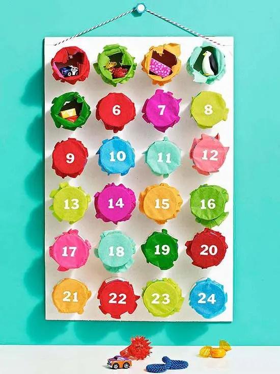 Round-up of 15 Inspiring DIY Advent Calendars   Five Marigolds
