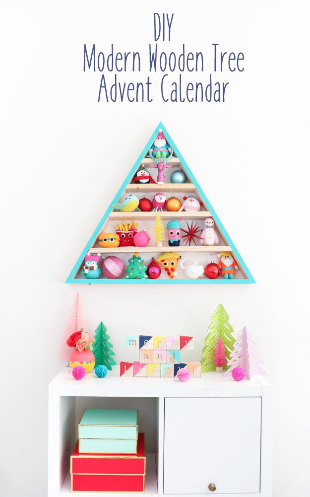 15 Inspiring DIY Advent Calendars | Five Marigolds