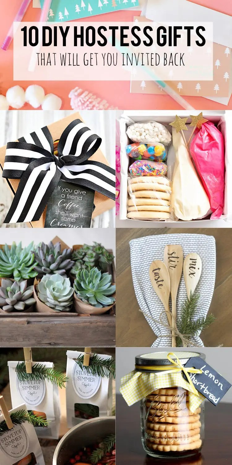 10 DIY Hostess Gifts that will get you invited back.