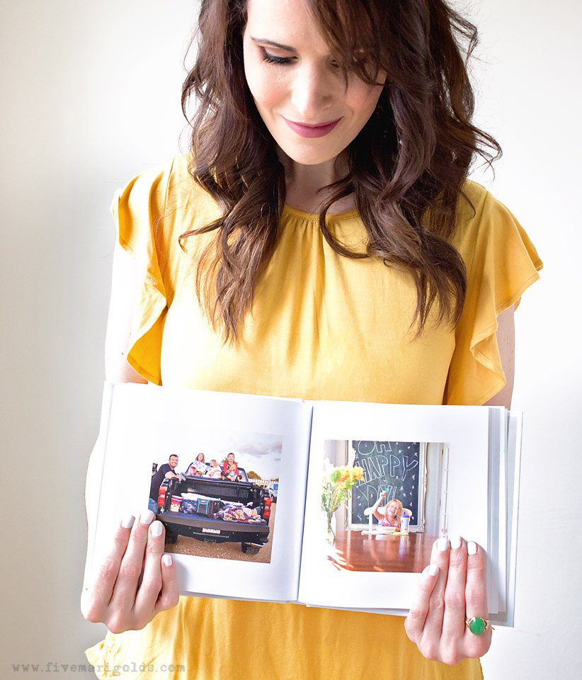 The Print Your Photos Challenge - how I printed my entire 365 photo a day project with Blurb. | Five Marigolds #blurbbooks #ad