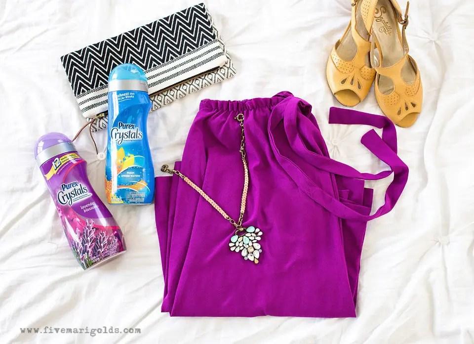 Trash to Treasure Dress Upcycle | Five Marigolds