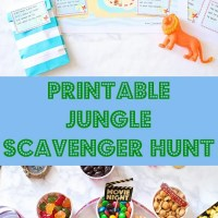 Jungle Scavenger Hunt Printable