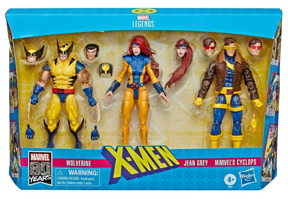 X-Men Three Pack