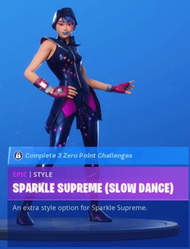 Sparkle Supreme Slow Dance