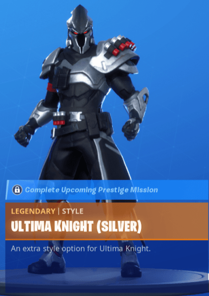 Ultima Knight Silver