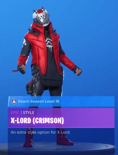 X Lord Crimson