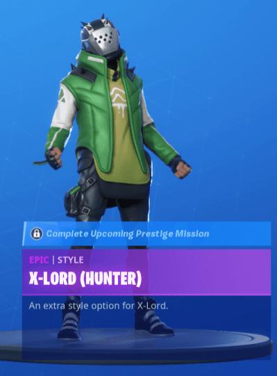 X-Lord green