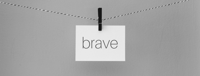 On Being Brave as a Christian Writer {Day 19 :: Brave}