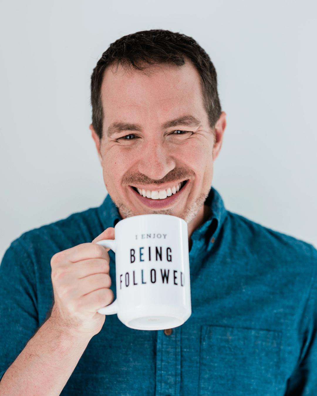 Jerry Potter Headshot with Mug
