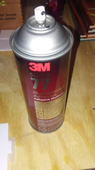 3M 77 Spray adhesive