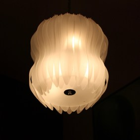 Jellyfish light fixture