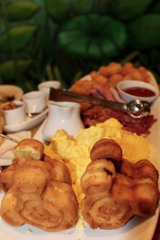 Breakfast platter at Garden Grill