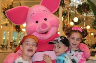 Piglet at Crystal Palace