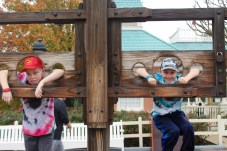 The boys in the stocks