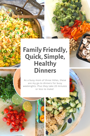 20-minute healthy dinner recipes / Five Plates