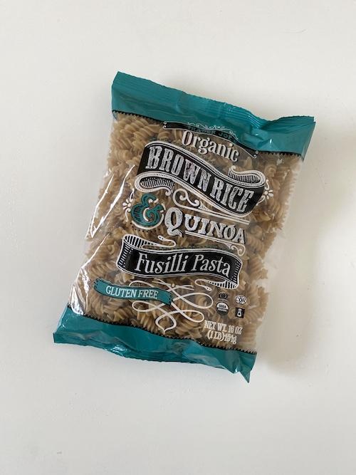 TJs Staple Items: Trader Joe's Organic Brown Rice & Quinoa Fusilli Pasta