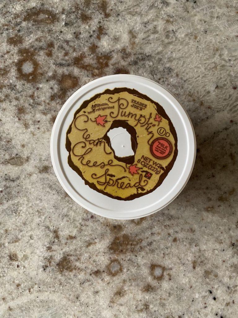 Trader Joe's Fall: Pumpkin Cream Cheese