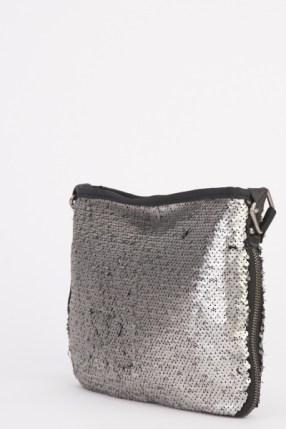 Sequin Cross-Body Bag