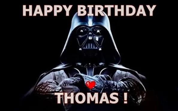 Do Darth Vader Birthday Video For You By Starluk77 Fiverr