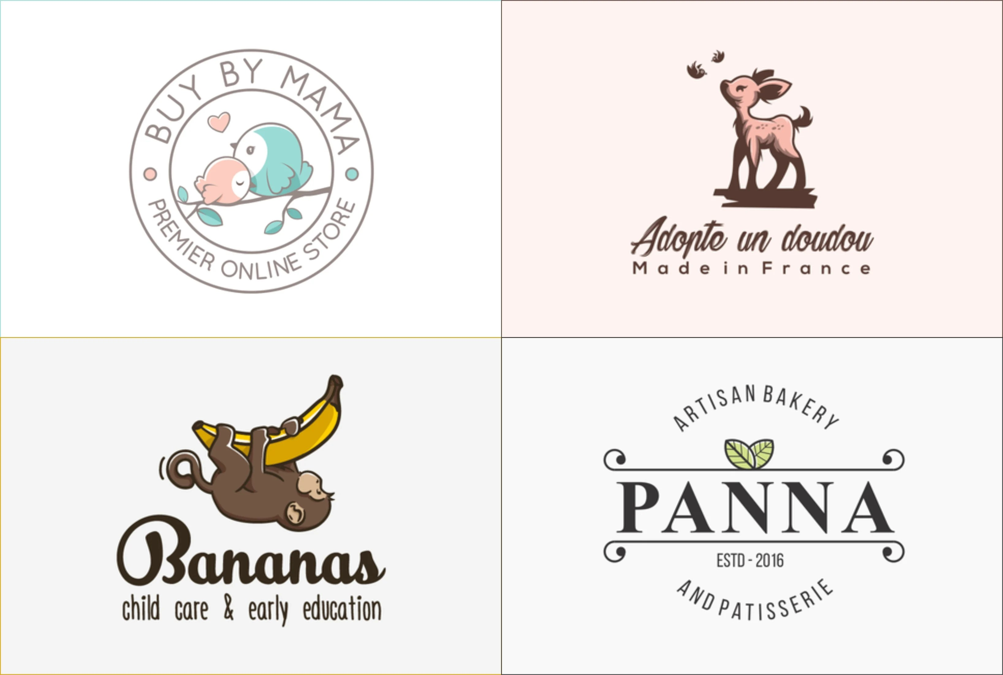 design awesome kids and baby shop logo for your business