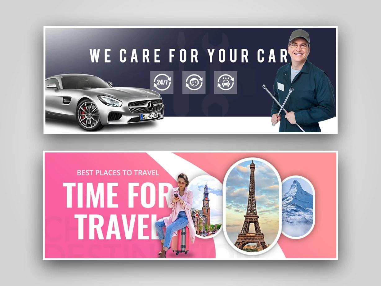 design website banner flyer design poster design banner ads in photoshop