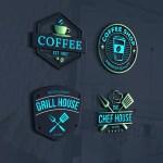 Design Coffee Shop Food Bbq Cafe And Restaurant Logo By Jame Tareq
