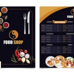 Do Creative Restaurant Menu Design By Eaminraj