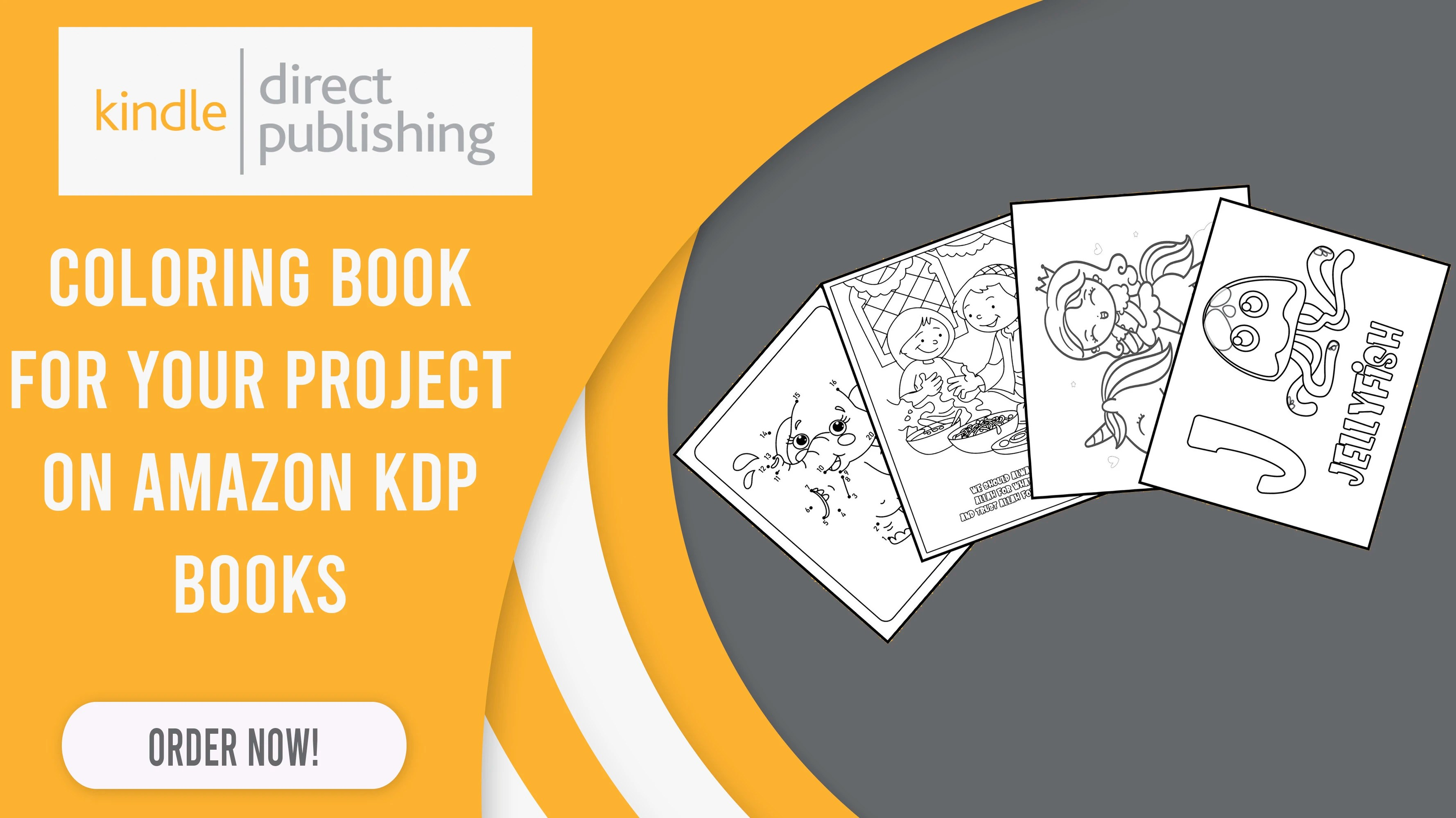 Coloring Book For Your Project On Amazon Kdp Books By Abdealazizaz294 Fiverr