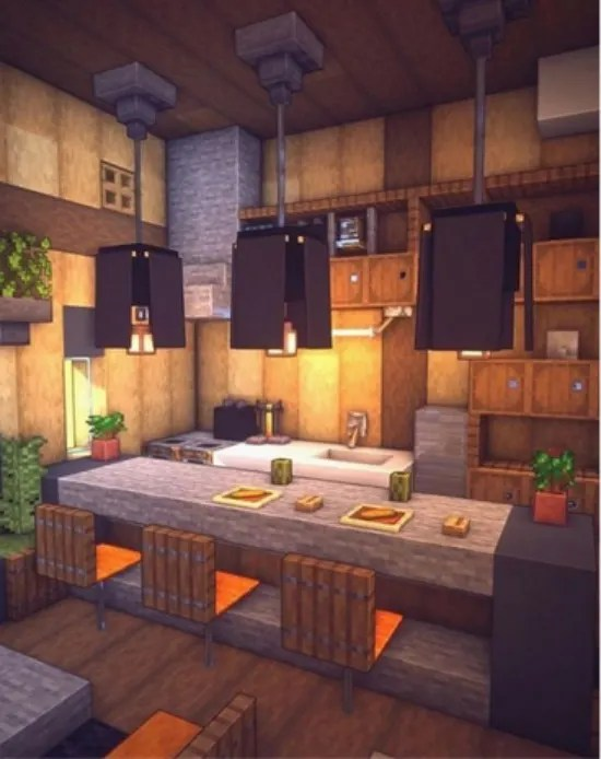 Do The Interior Decoration Of Your Builds In Minecraft By Golfy38 Fiverr