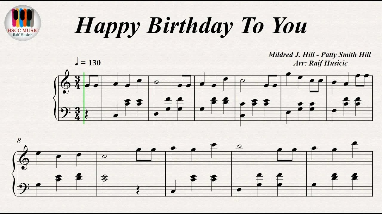 Play A Happy Birthday Song On Piano For You By Azizakmurza Fiverr