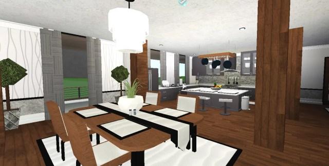 Interior Bloxburg Dining Room Ideas - Interiors Home Design