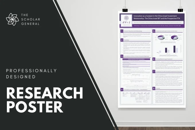 professionally design a research poster