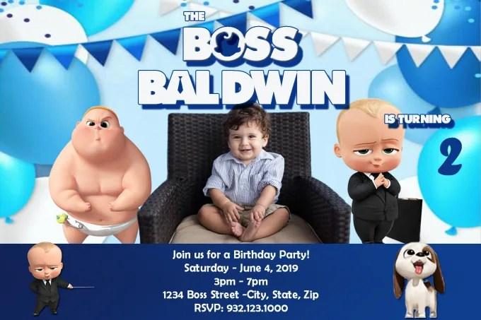 design birthday invitation card