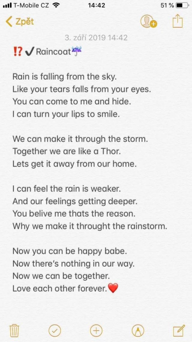 Write a poem for your girlfriend by Tomkakun  Fiverr