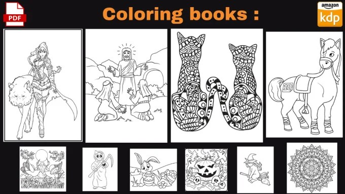 Create 1 Coloring Book With 30 Coloring Pages For Amazon Kdp By Jeydead Fiverr