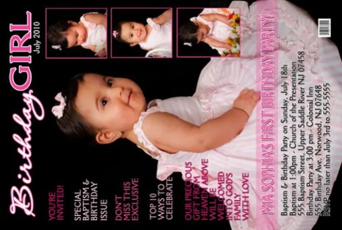 make birthday invitation card for your
