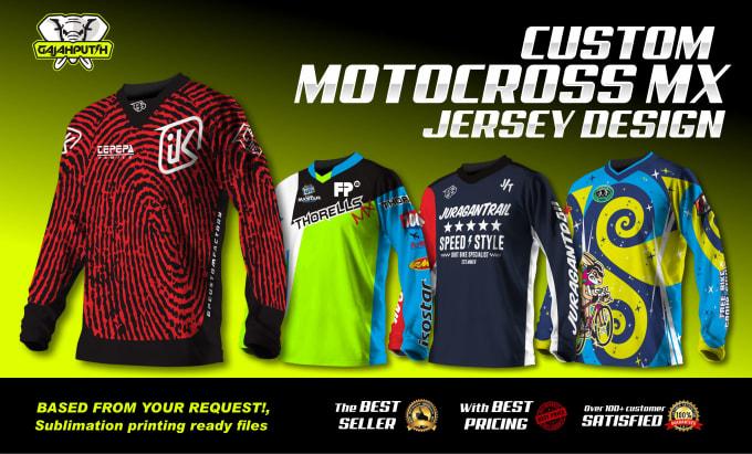 Download Make motocross mx jersey design,mountain bike, bmx too by ...