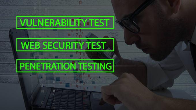 Vulnerable Websites Testing