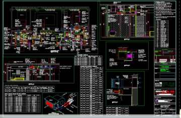 do a autocad mep drawing hvac and plumbing system by