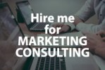 consult with or review your marketing initiatives