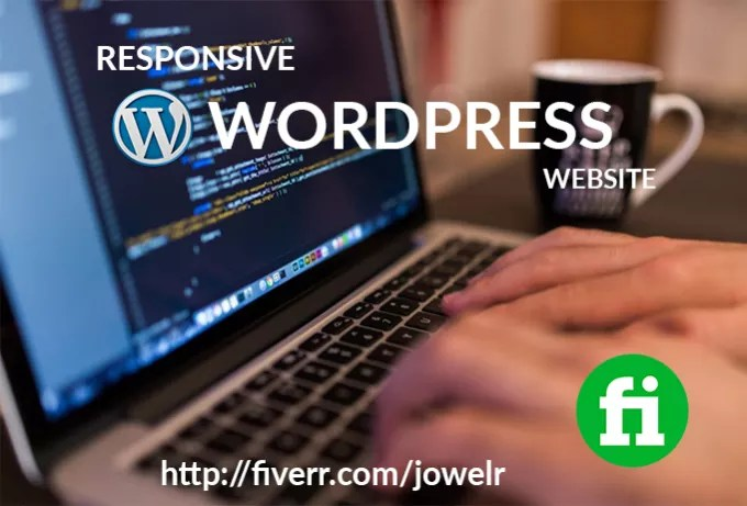 design and develop responsive wordpress website
