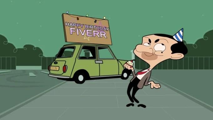 Make A Funny Mr Bean Dance Happy Birthday Cartoon By Raventl Fiverr