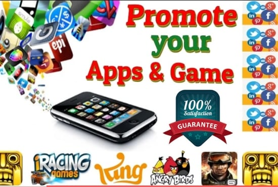 I will do unique and viral app promotion of mobile apps and games