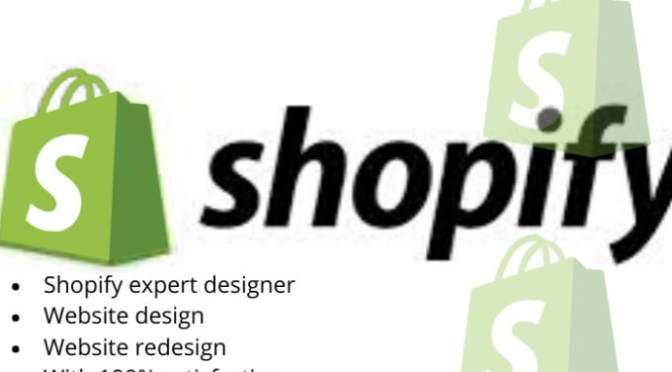 I will setup a professional shopify website,store design