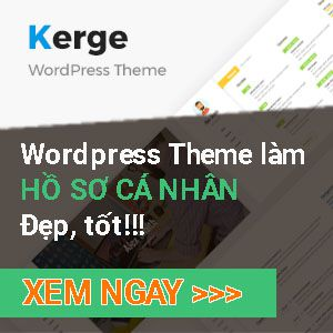 kerge wordpress theme
