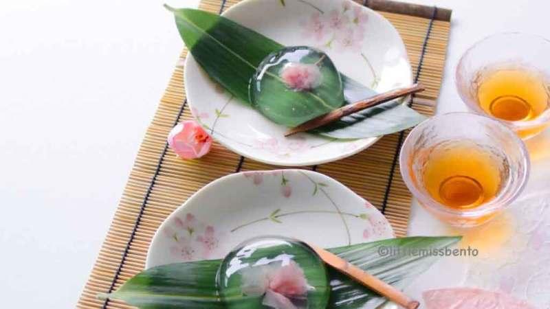 Recipe Sakura Mizu shingen mochi